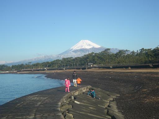 富士見晴れ