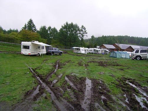 オフロードキャンプ