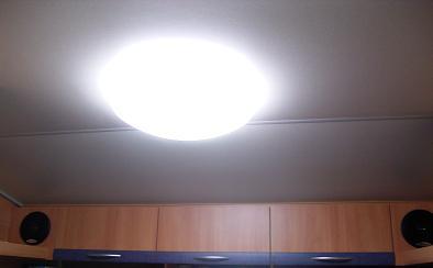 さすが蛍光灯っ