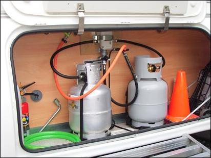 LPガス自動切り替え器