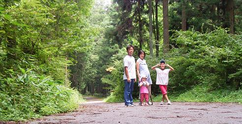 林間コース散策