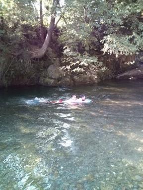 9月マジ泳ぎ
