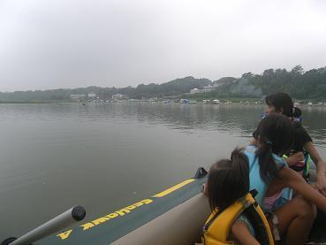 水上ツーリング