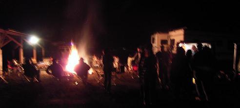 焚き火オフ