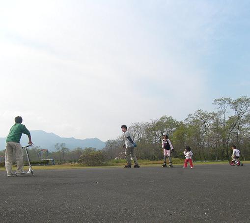 多目的広場サイクルコース